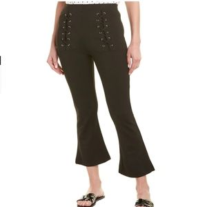Walter Baker Justine Pant High Waist Lace Up Pants